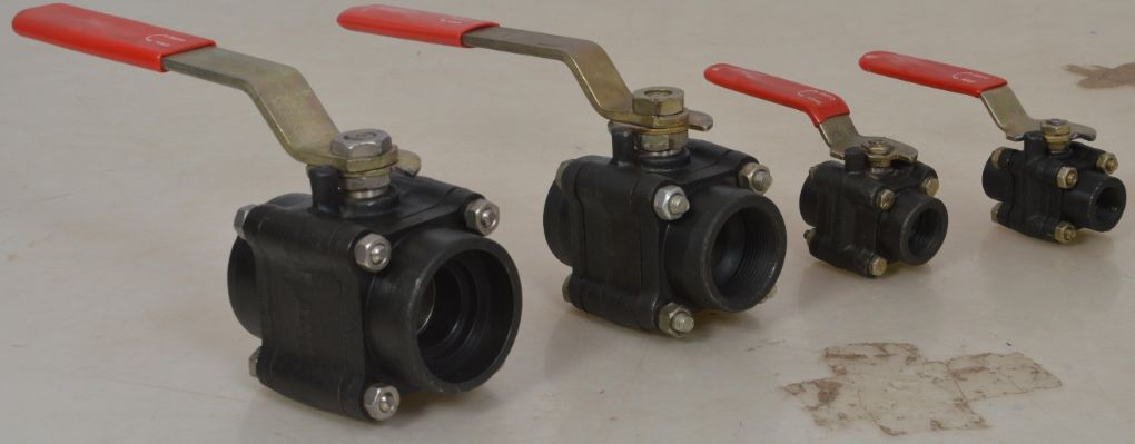 Forged-Steel-Ball-valve-3PC